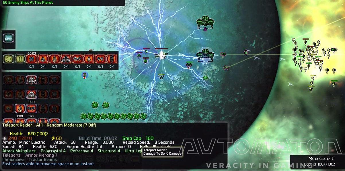 AIがあたえる罰は容赦ないが公平だ。AIは領土内の戦闘で発生したユニット残骸を回収し、報復艦隊(WAVE)を人類星系におくる。攻撃する星系や到着時間、WAVEの内容はわかるので対処する時間はある。WAVEが強いゲーム後半では懺悔する時間となる。