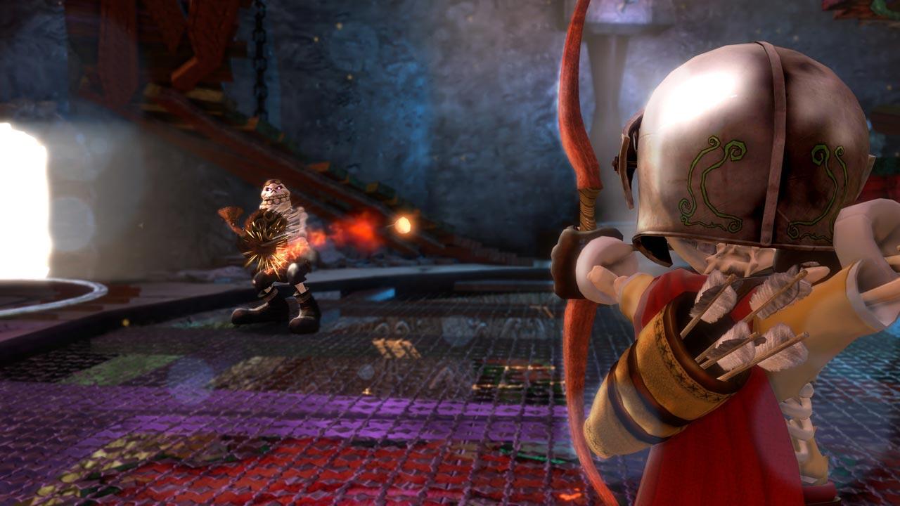『Medieval Moves: Deadmund's Quest』。PS Moveローンチから1年後の2011年に発売された。