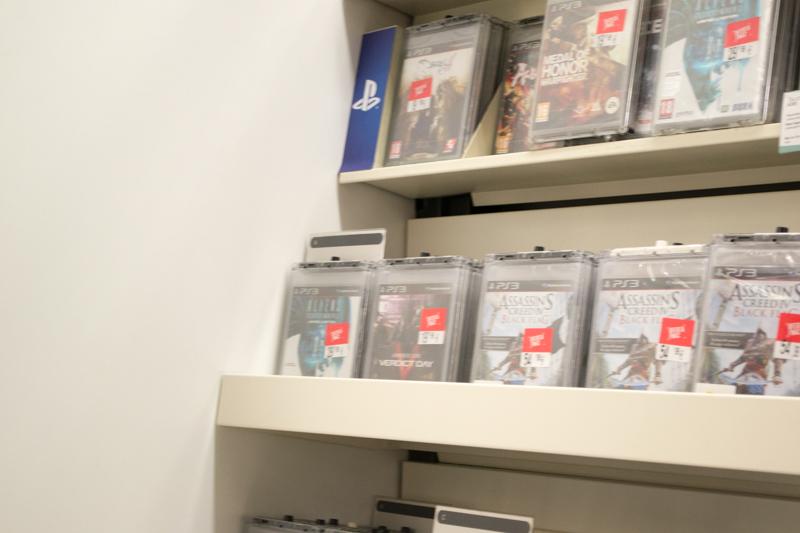 PS3ゲーたち。アサクリは人気のようです。