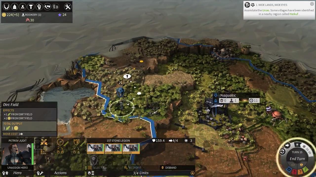 マップ画面で敵ユニットに戦闘をしかける。