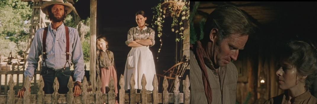 左の画像は映画「さすらいのカウボーイ」、右の画像は映画「ウィル・ペニー」より。