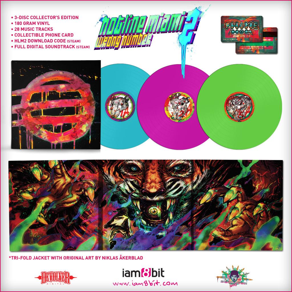 ビニールレコードが付属するなど、『Hotline Miami 2』のコレクターズエディションは豪華な特典が話題となった