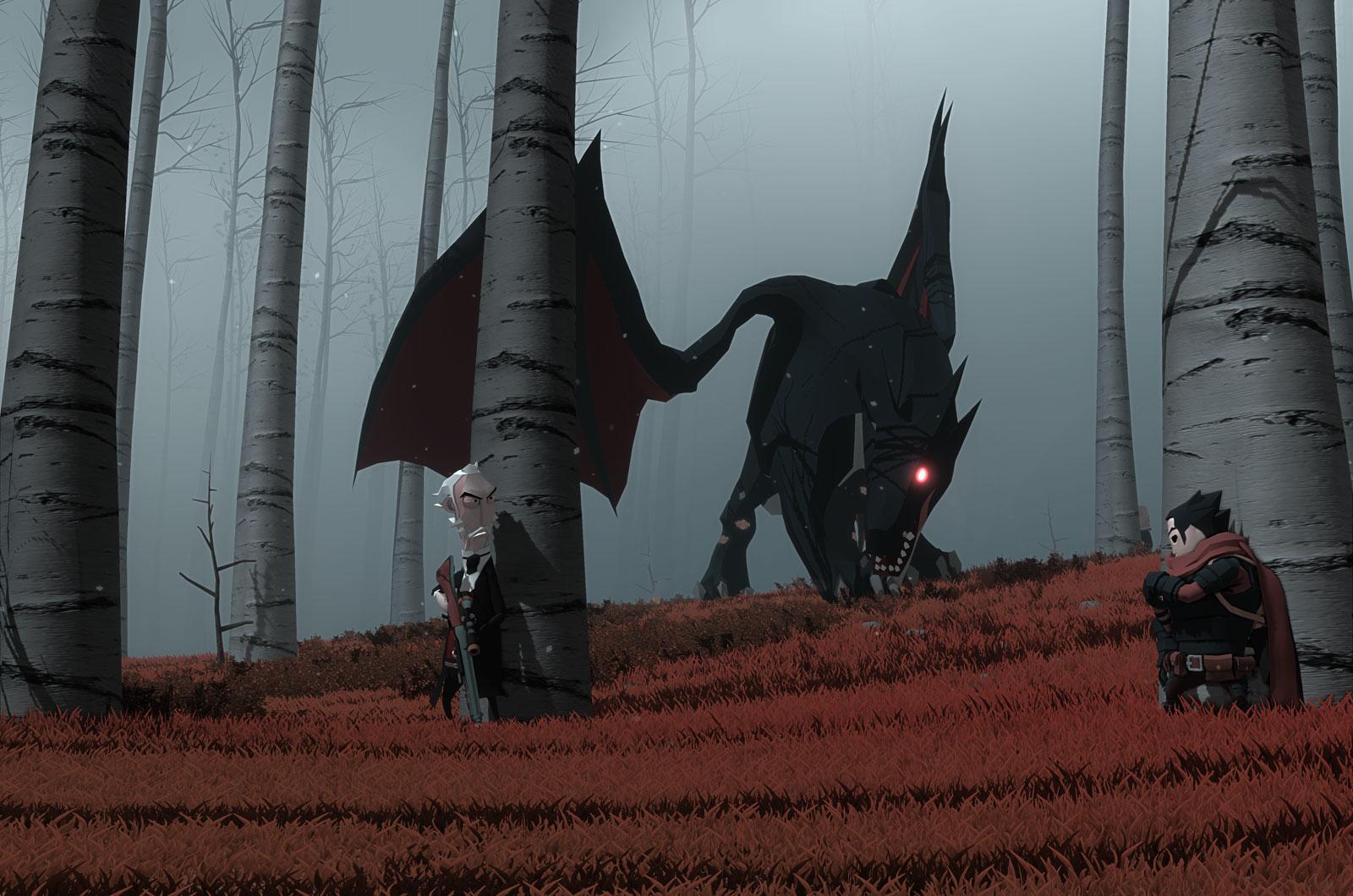 10年以上の歴史を持つNeostreamの3人組が、初めて『Little Devil Inside』で自らが望むゲーム開発に挑戦する
