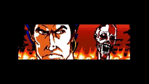体一つで地獄の化け物軍団と戦う本作の主人公 Thurstan。『Insanity's Blade』では Daven Bigelow 氏が過去に執筆していたコミックがベースになっているとのこと