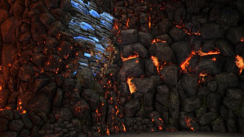 このゲームを遊ぶ上で幾度となく観ることになる「壁を上がるだけ」「崖を飛び降りるだけ」のカットシーン。