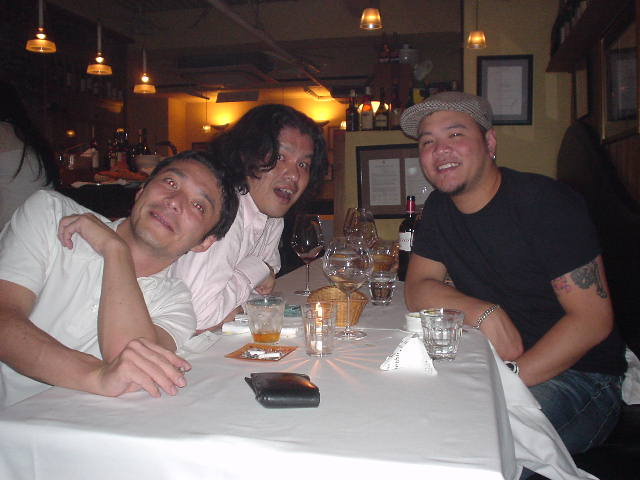 James Mielke氏と飯野賢治氏、2006年9月