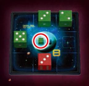惑星四方にある 緑の合計が8。