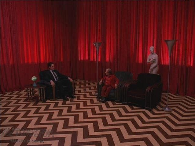 ツイン・ピークスの赤い部屋