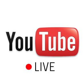 「YouTube LIVE」