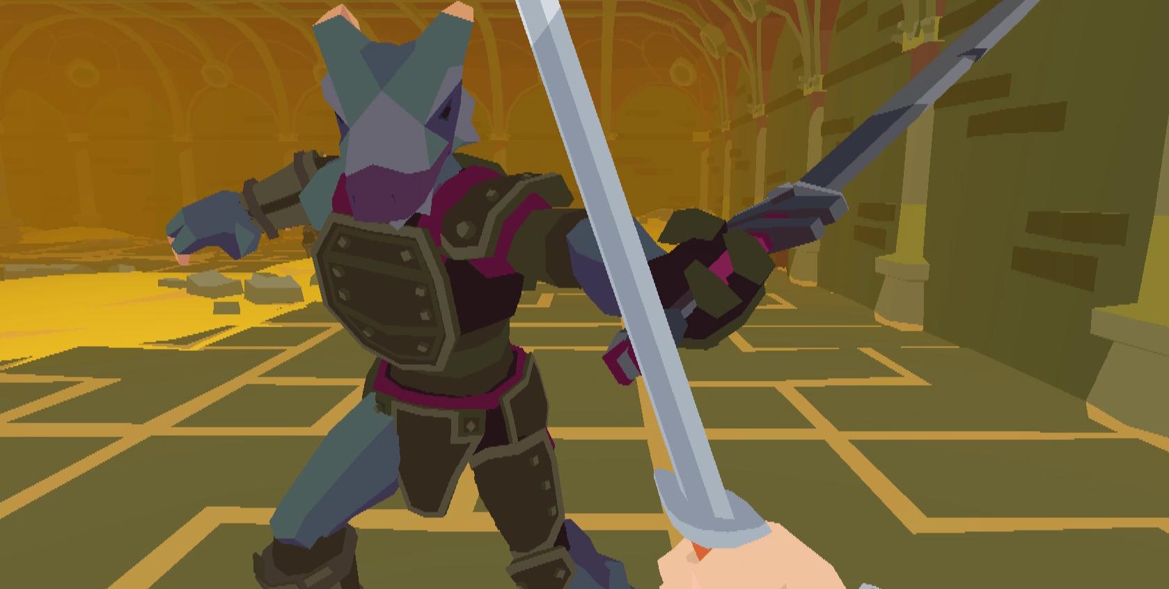 """クレイモアを持った""""あなたのオヤジ""""が暴れ回る『Dad By The Sword』一人称視点のソードアクション"""
