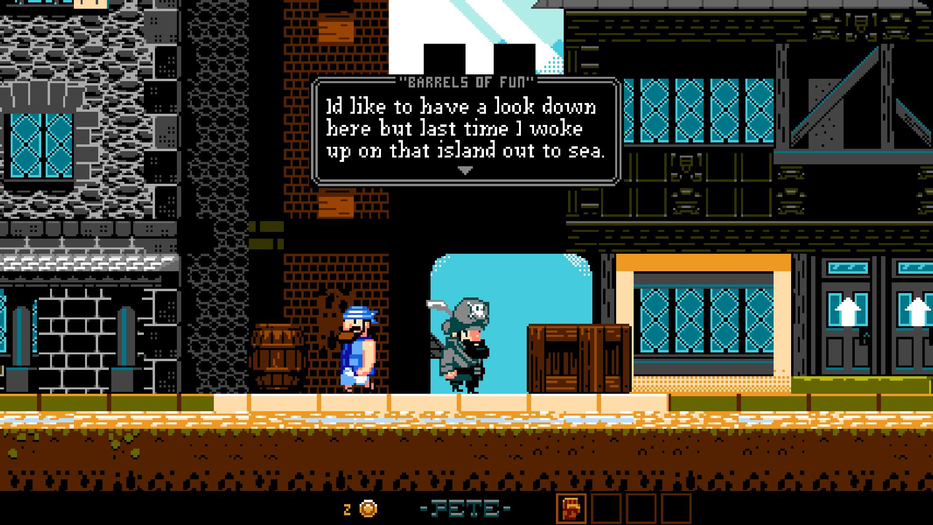 スクリーンショットでは英語だが、BitSummit会場では日本語版もプレイできた。