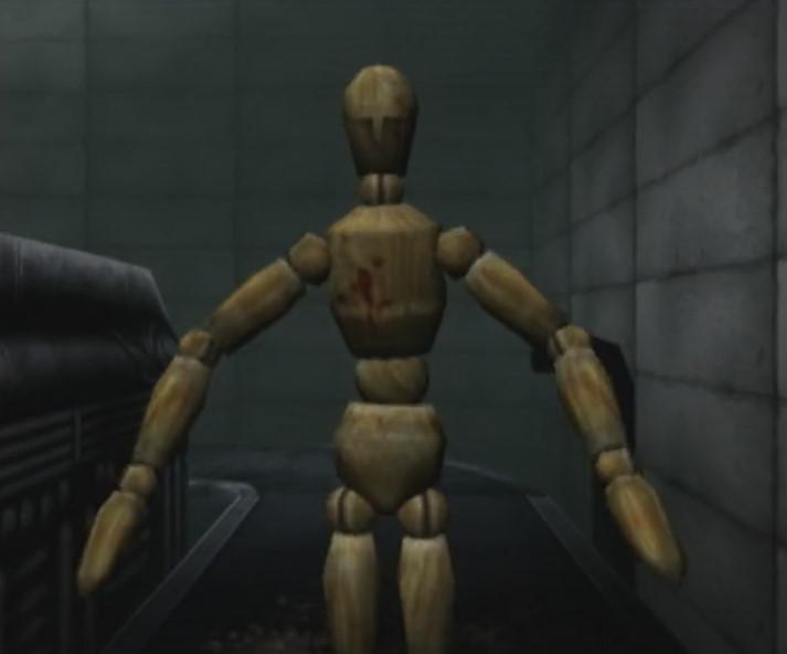 このゲームのマスコット的存在の材木人間。
