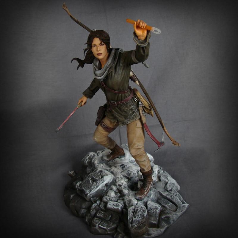 ララ・クロフトのフィギュア 画像出典: Tomb Raider Store