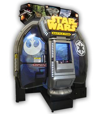 スペースコンバットシムの答えのひとつ『スター・ウォーズ:バトル ポッド』。