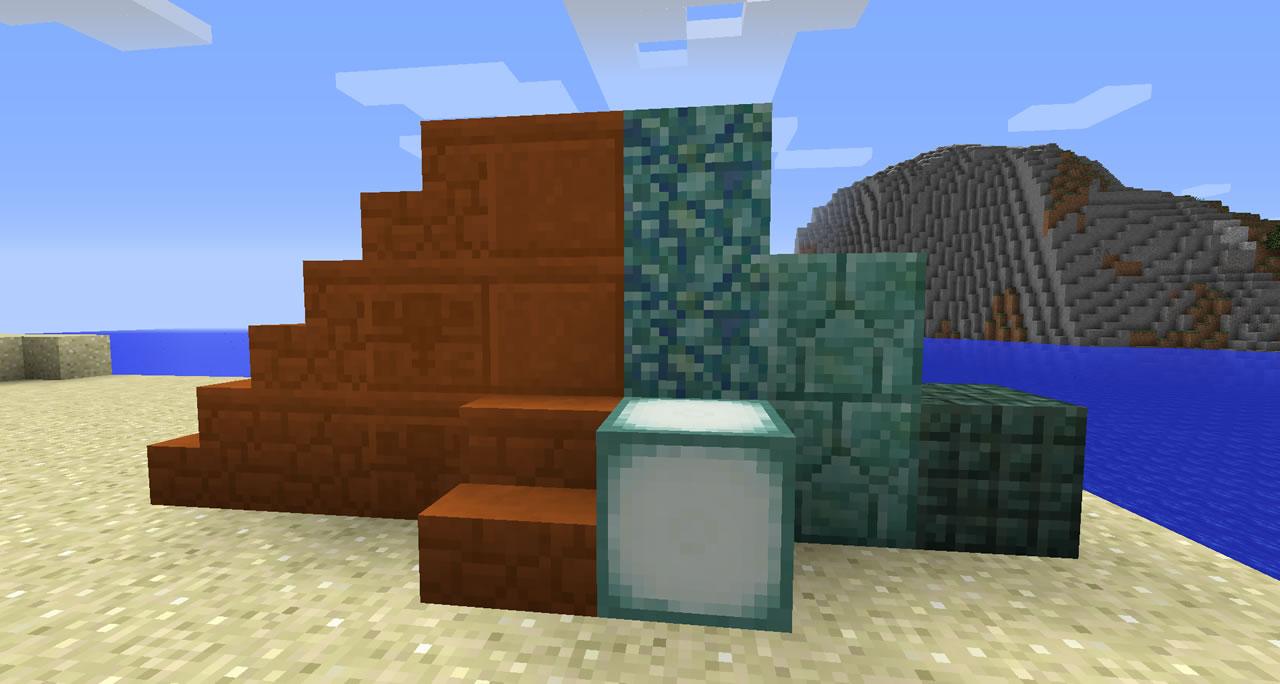 ※画像はPC版のもの 鮮やかな砂岩やプリズマリンによって、建築デザインの幅は広がりそうだ。