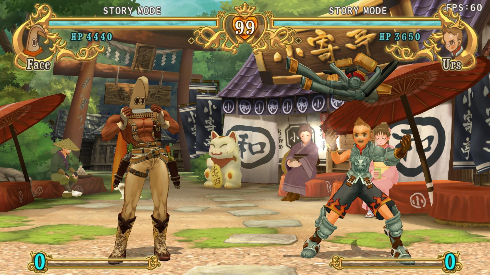 PC版『バトルファンタジア』。11月25日のアップデートで解像度制限がなくなり。全ハード中もっとも豪華な画質になった。