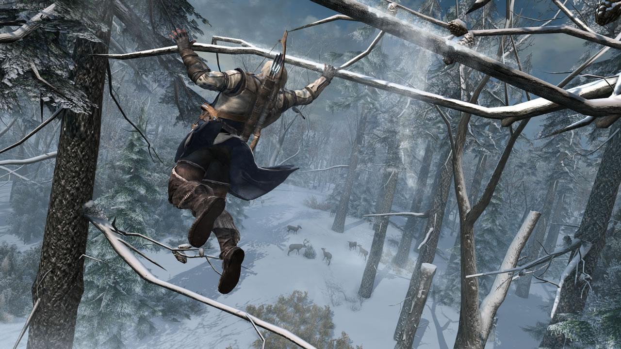 Wii U版の『Assassin's Creed 3』はWii Uゲームパッドだけで遊べるなど数々の利点がある。