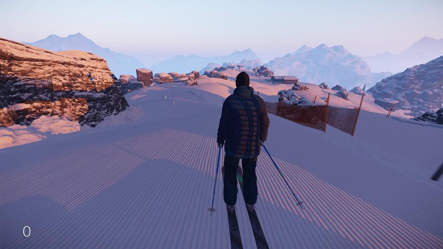 ゲーム開始から息を飲むような美しい景観がプレイヤーの目に飛び込んでくる。