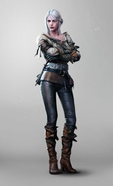 『The Witcher 3: Wild Hunt』 Ciri Image Source: The Witcher Wiki