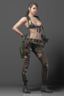 『METAL GEAR SOLID V: THE PHANTOM PAIN』 クワイエット Image Source: Metal Gear Portal Site