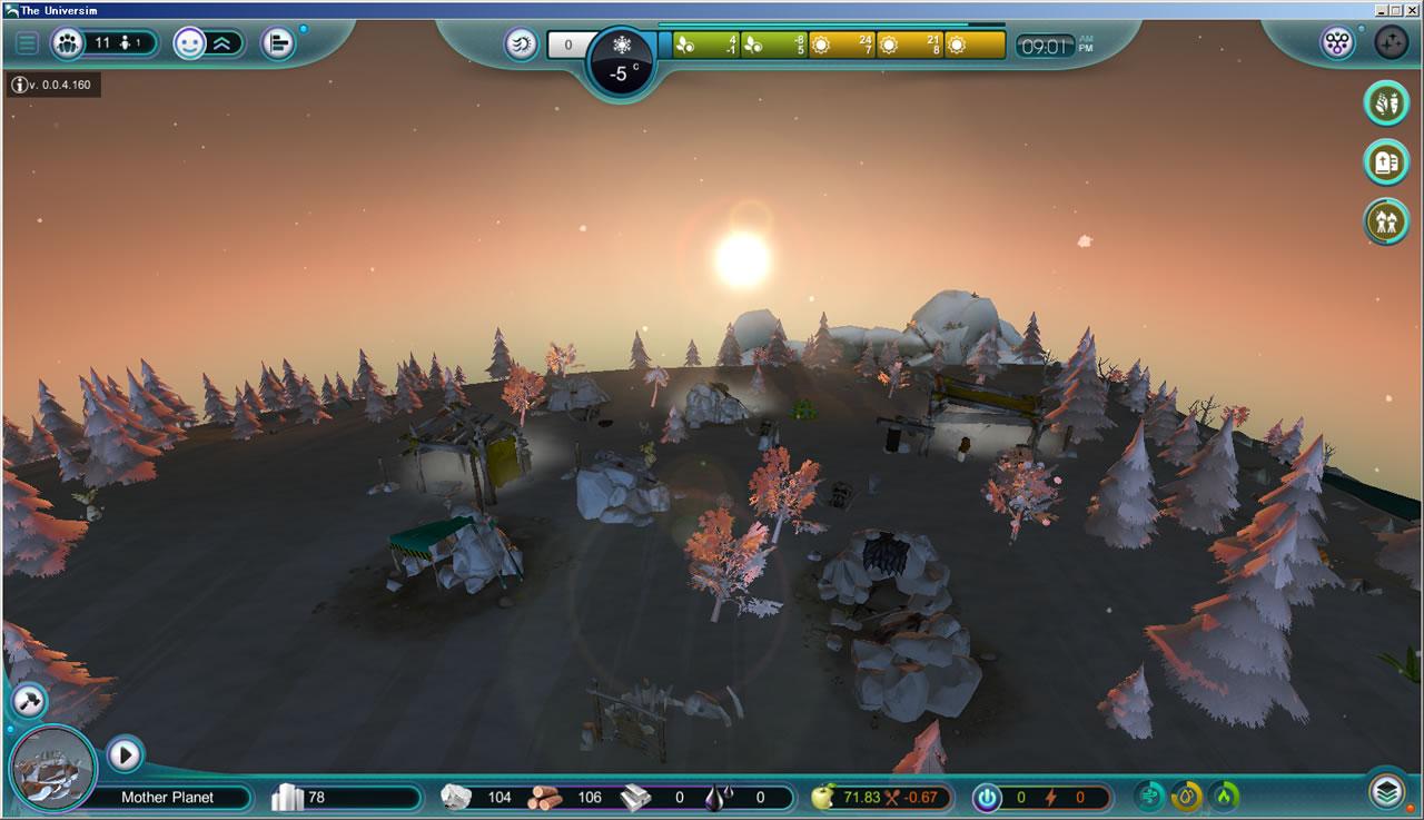 『The Universim』は人類の夜明けから宇宙進出、さらに別惑星への入植やエイリアンとの遭遇までも描く壮大なゲームだ。2014年にスタートし、現在はアルファ版。