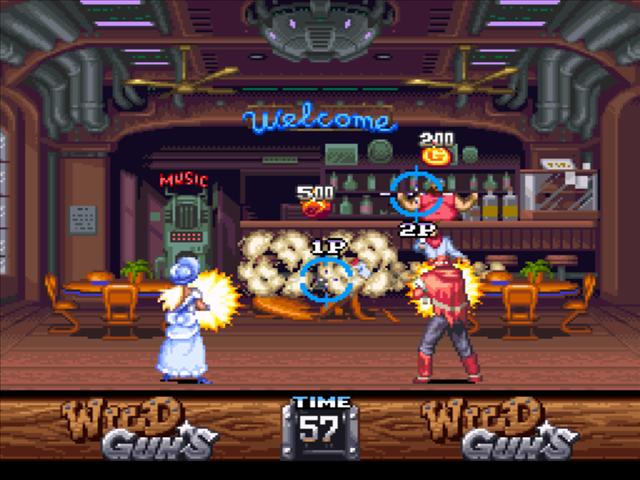 オリジナルの『ワイルドガンズ』 Imaged by US Gamer.net