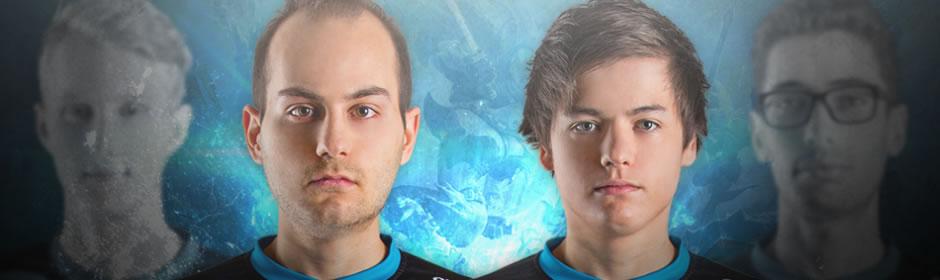 新たにBotレーンを担うFORG1VEN選手(中央左側)とHybrid選手(中央右側)。 画像出典: Origen
