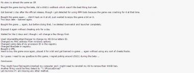 PC Gamerが参照した元チーターの投稿