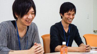 2Dアーティスト浜田京介氏(写真左)と、3Dアーティスト三富哲也氏(写真右)
