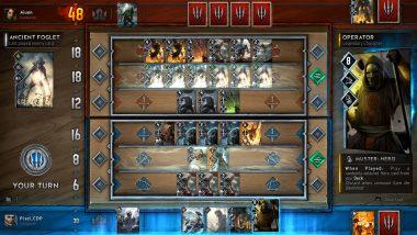 『The Witcher 3』から独立したカードゲーム『Gwent』