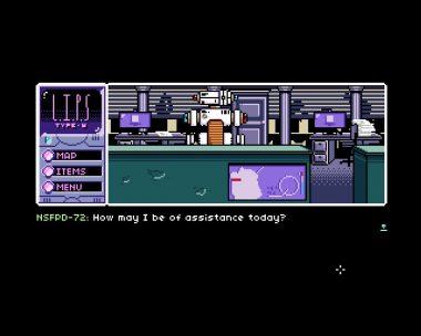 ゲーム内には人間だけでなく、個性の強いロボットも多く登場する。