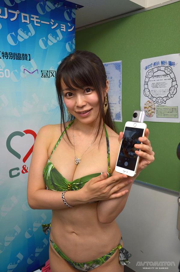 360度撮影が可能で、かつiPhoneに挿して使うこともできるカメラInsta360 Nano。