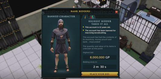 「RuneFest」で公開された「Bank bidders」のイメージ画像