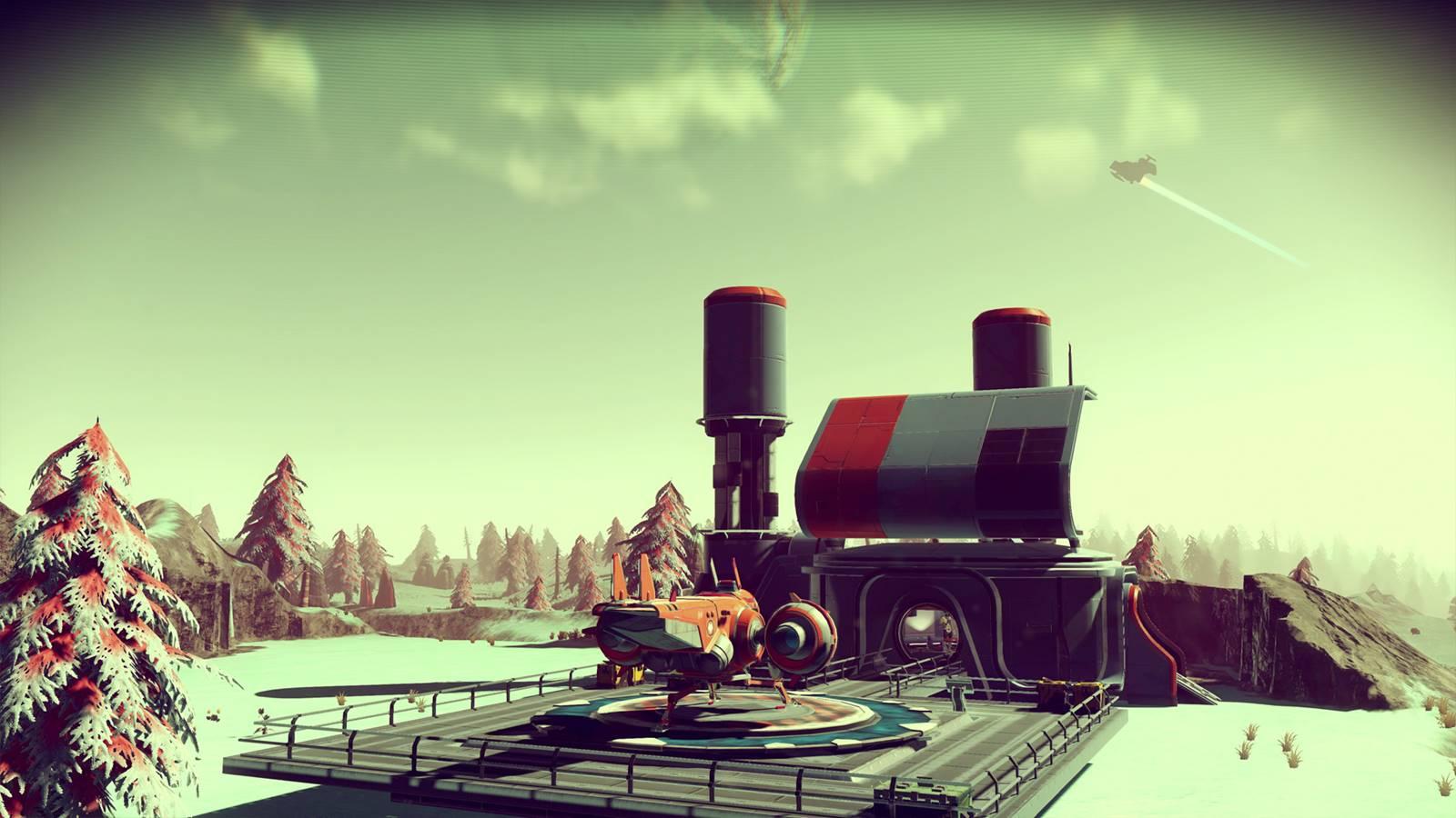 『No Man's Sky』のイメージ画像として用いられているシーンの多くは、ゲーム内で見かけることができない。