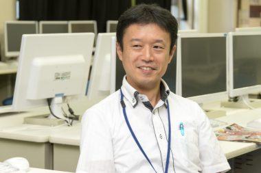 泉尾高校首席の大見先生
