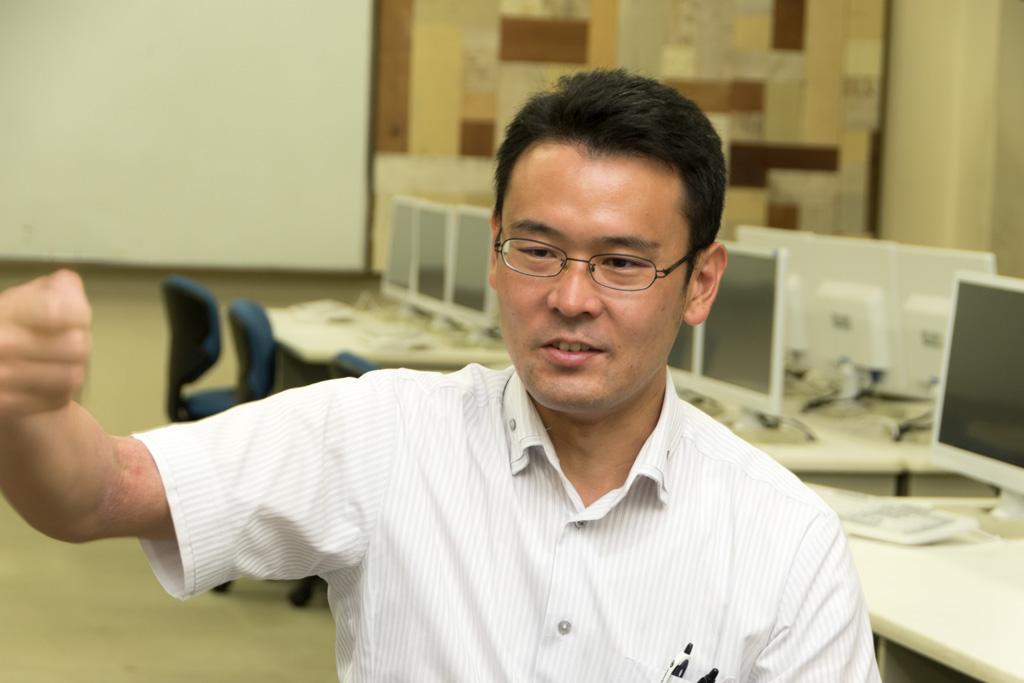 森井先生 泉尾高校の教員である森井先生