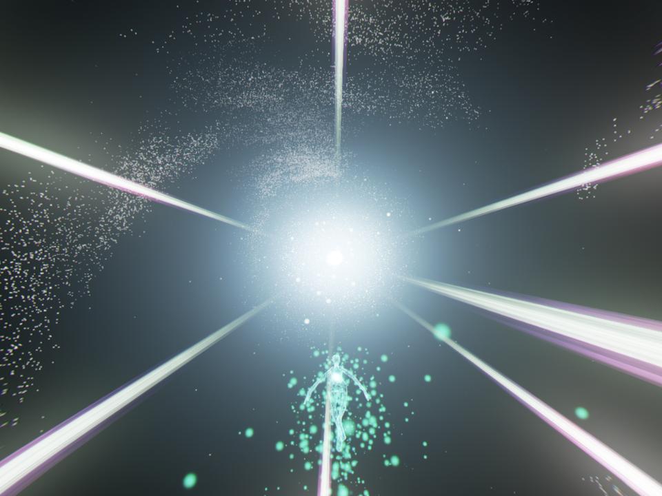 光と音、鼓動の奔流が形作る新たな『Rez』の空間が、プレイヤーを待っている