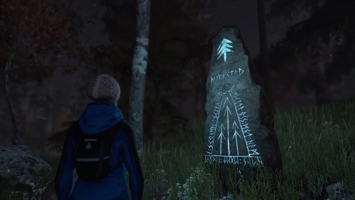 古代北欧民族が碑文などに用いたルーン文字。訳せばちゃんと意味のある内容になるという