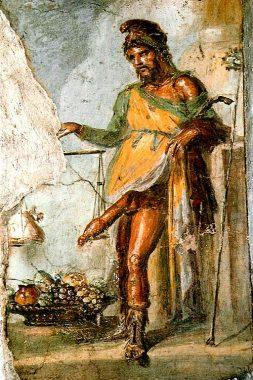 プリアーポスのフレスコ画