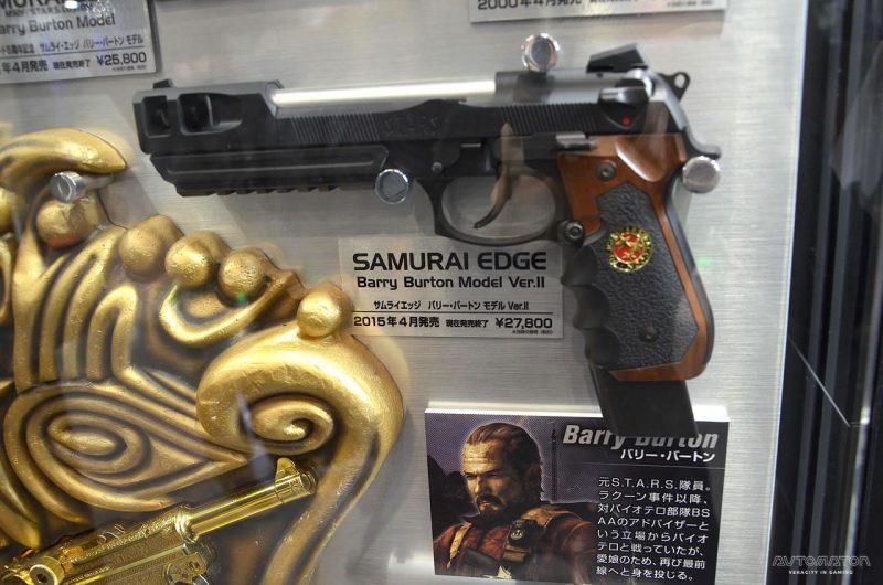 サムライエッジ バリー・バートンモデル Ver.II