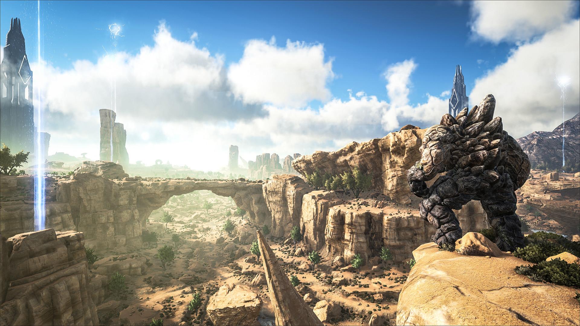 「ARK: Scorched Earth」は今年9月に配信が開始された拡張パック。既存とは異なるさらに危険なワールドやモンスターが追加される