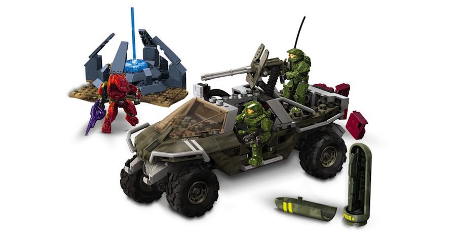 メガブロック Halo Warthog Resistance