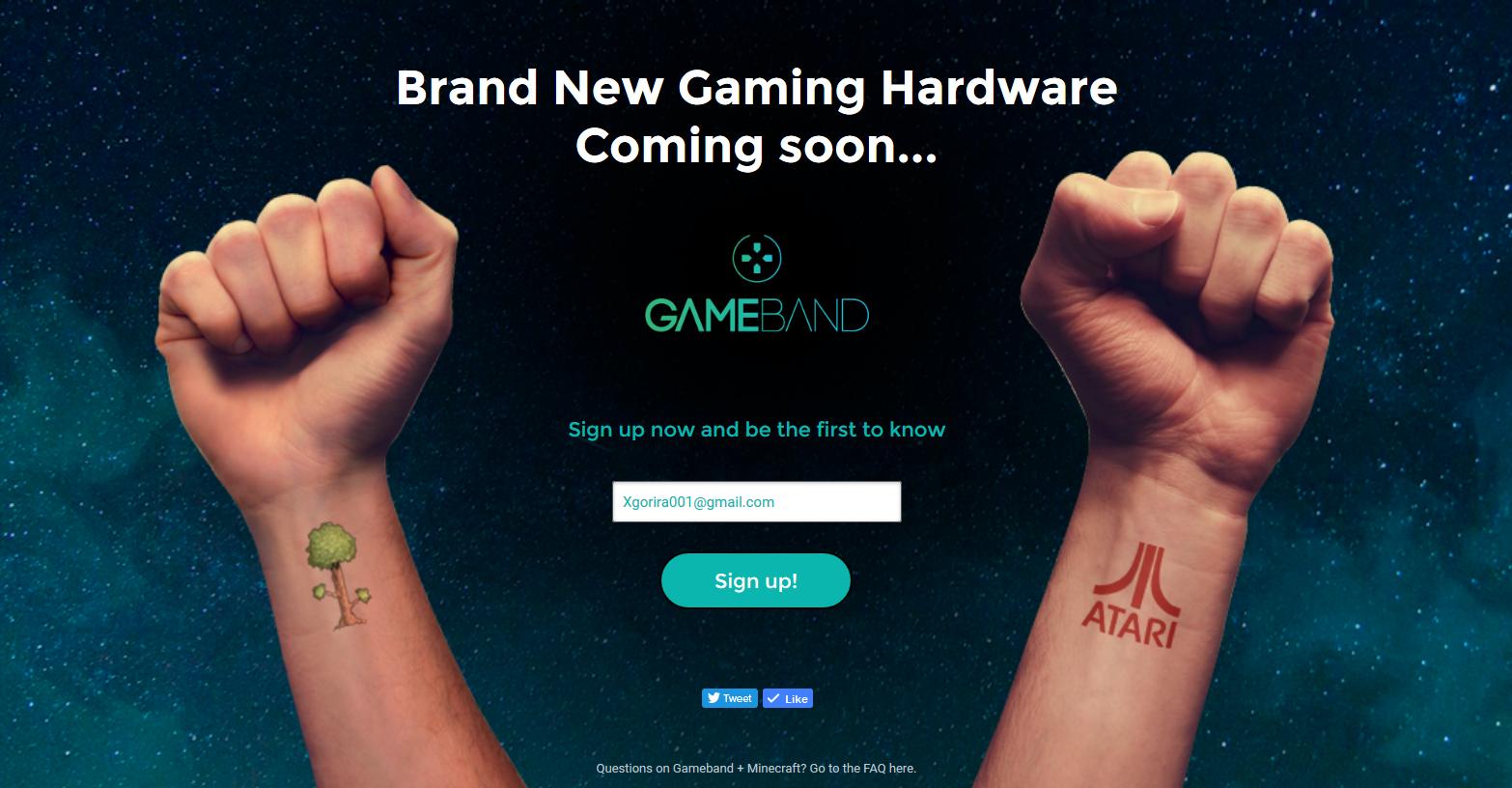 New Gameband