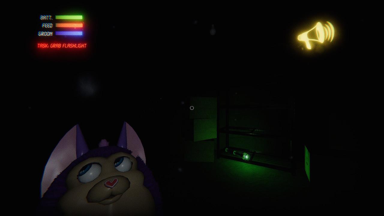 暗闇におびえる「tattletail」