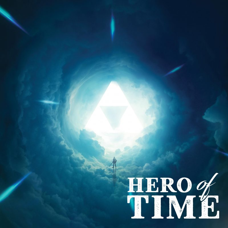 Hero of time legend of zelda ocarina of time album cover 800x800