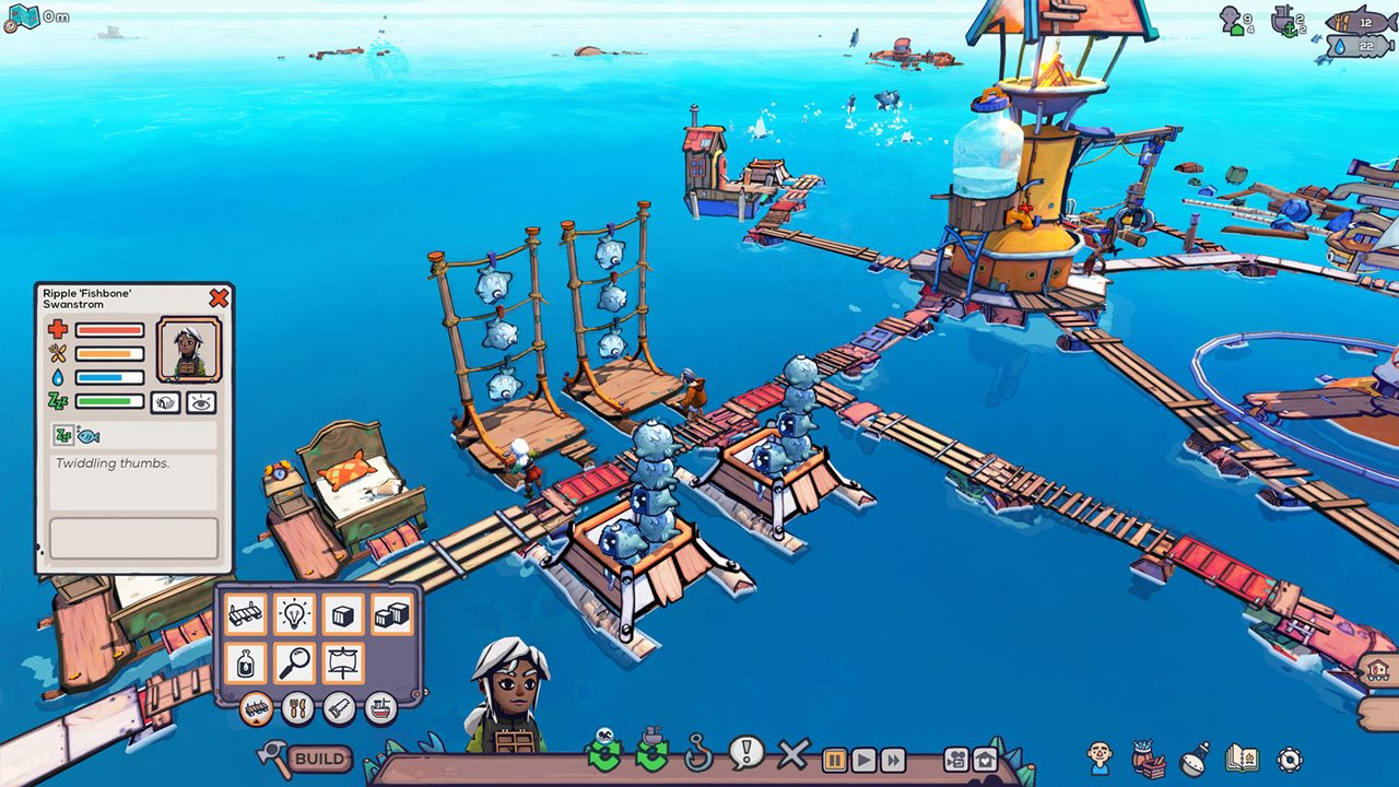 海上のガラクタ街作りサバイバル『Flotsam』9月26日Steam早期アクセス配信開始へ。日本語対応予定