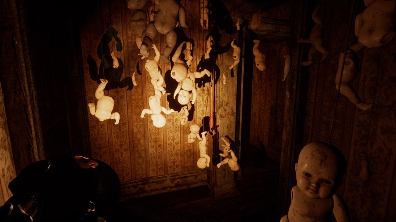 サイコホラーADV『Silver Chains』Steam/GOG向けに日本語対応で発売。悪魔から逃げ、謎を解き明かし不気味な館からの脱出を目指す