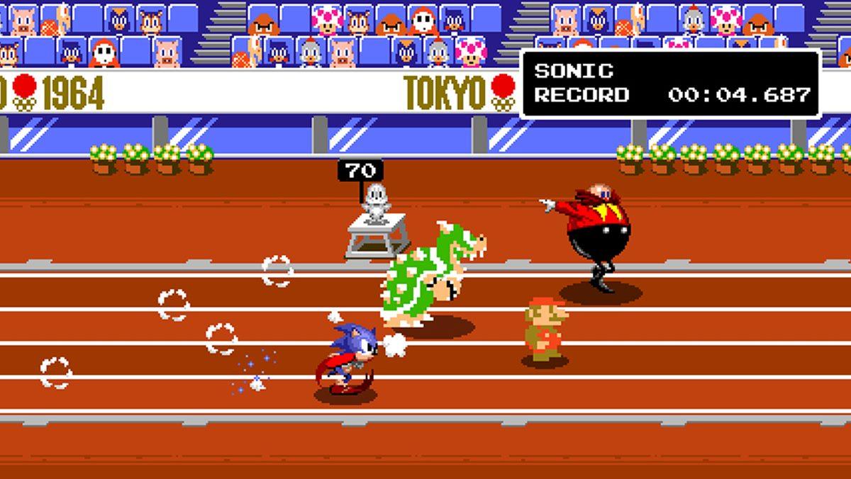 『マリオ&ソニック AT 東京2020オリンピック』11月1日に発売決定。「1964年の五輪」をドット絵で楽しむ要素も導入