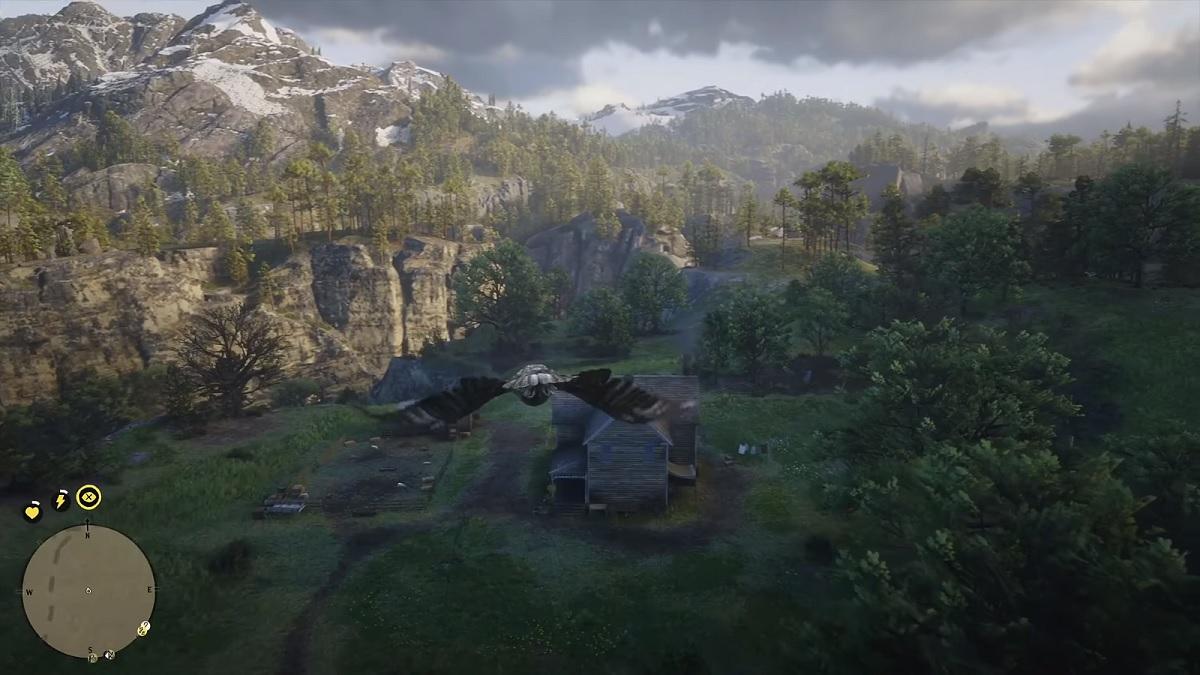 『レッド・デッド・リデンプション2』で鳥になって飛ぶ動画が公開される。暴力から離れ、空の散歩で癒されよう