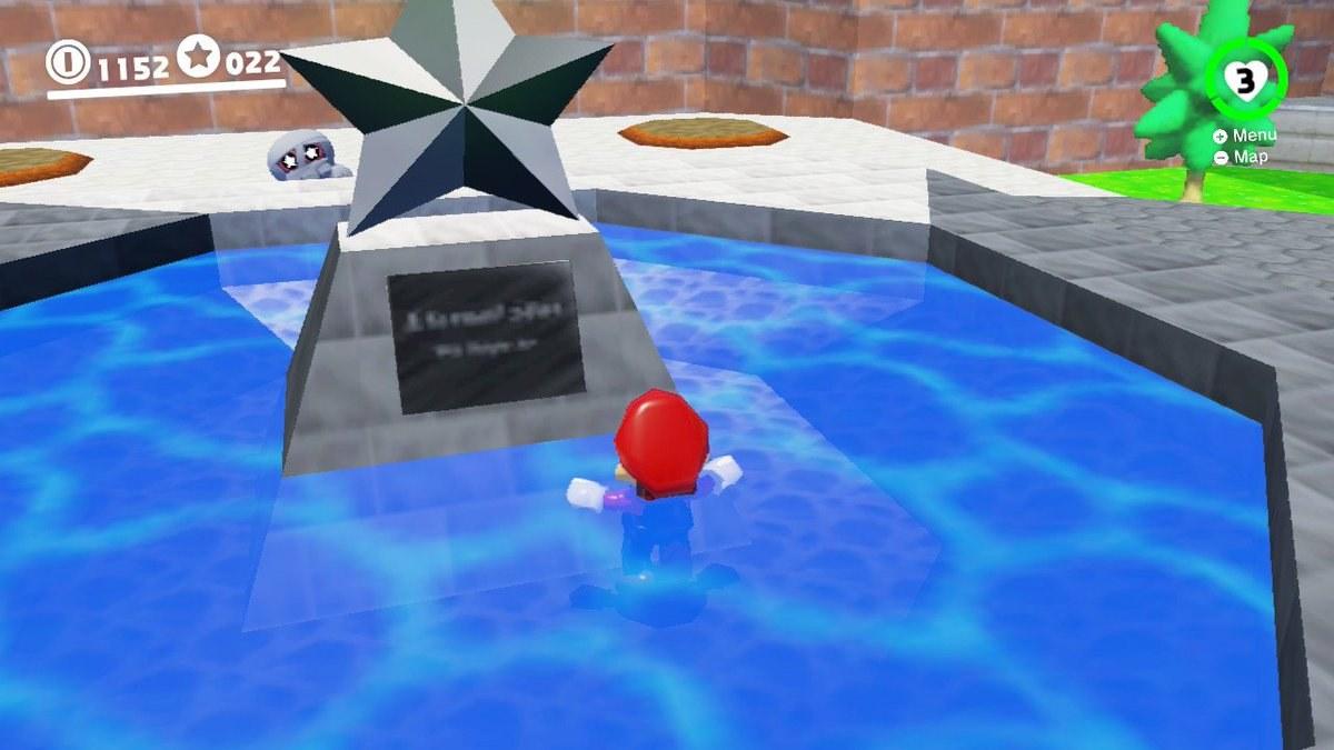 『スーパーマリオ64』で未だ解き明かされない「ルイージは存在する」とも読める星の石像の伏線は、なんと最新作にて21年越しに回収されていた